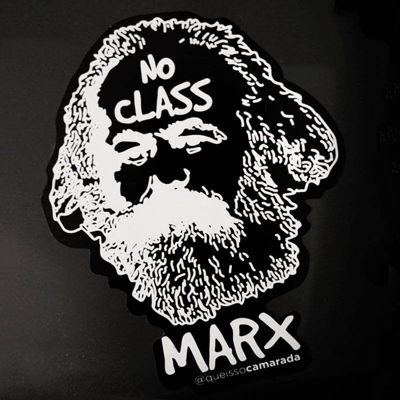Adesivo - Karl Marx