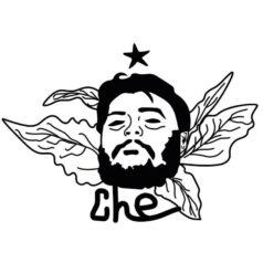 Ilustração Che Guevara por Alinne Martins