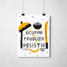 Poster - MST - Devo ocupar, devo resistir