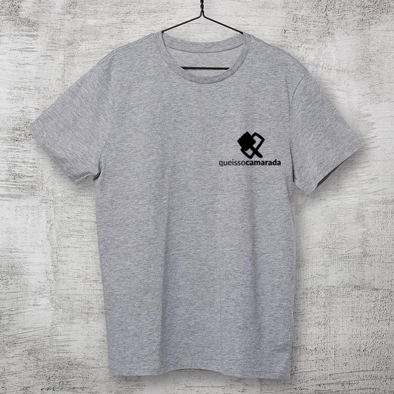 camiseta-cinza mescla-camarada pincel