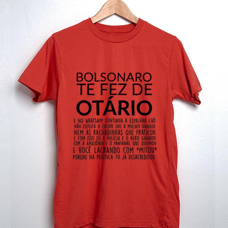 Camiseta Bolsonaro te fez de otario vermelha2