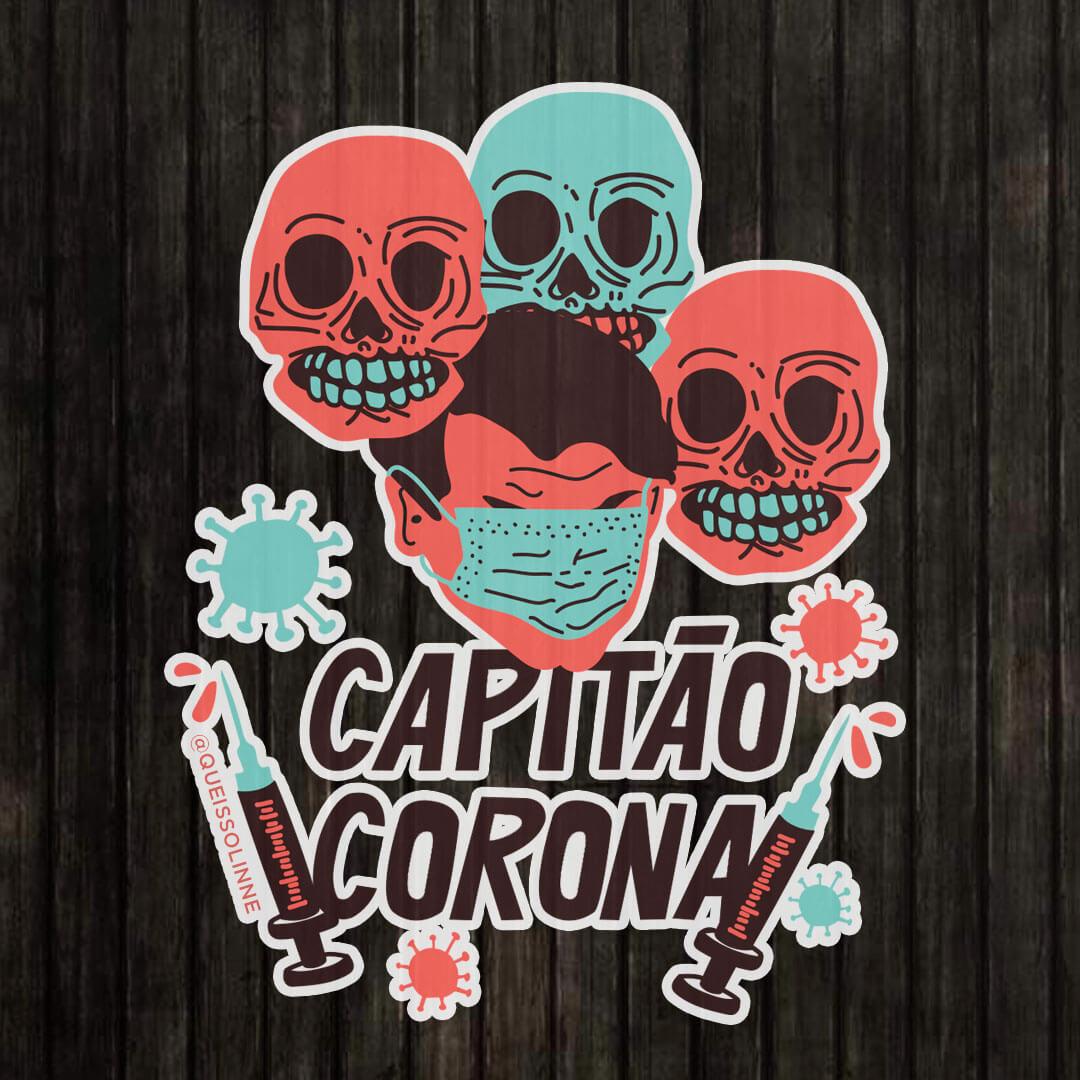 Adesivo - Capitão corona
