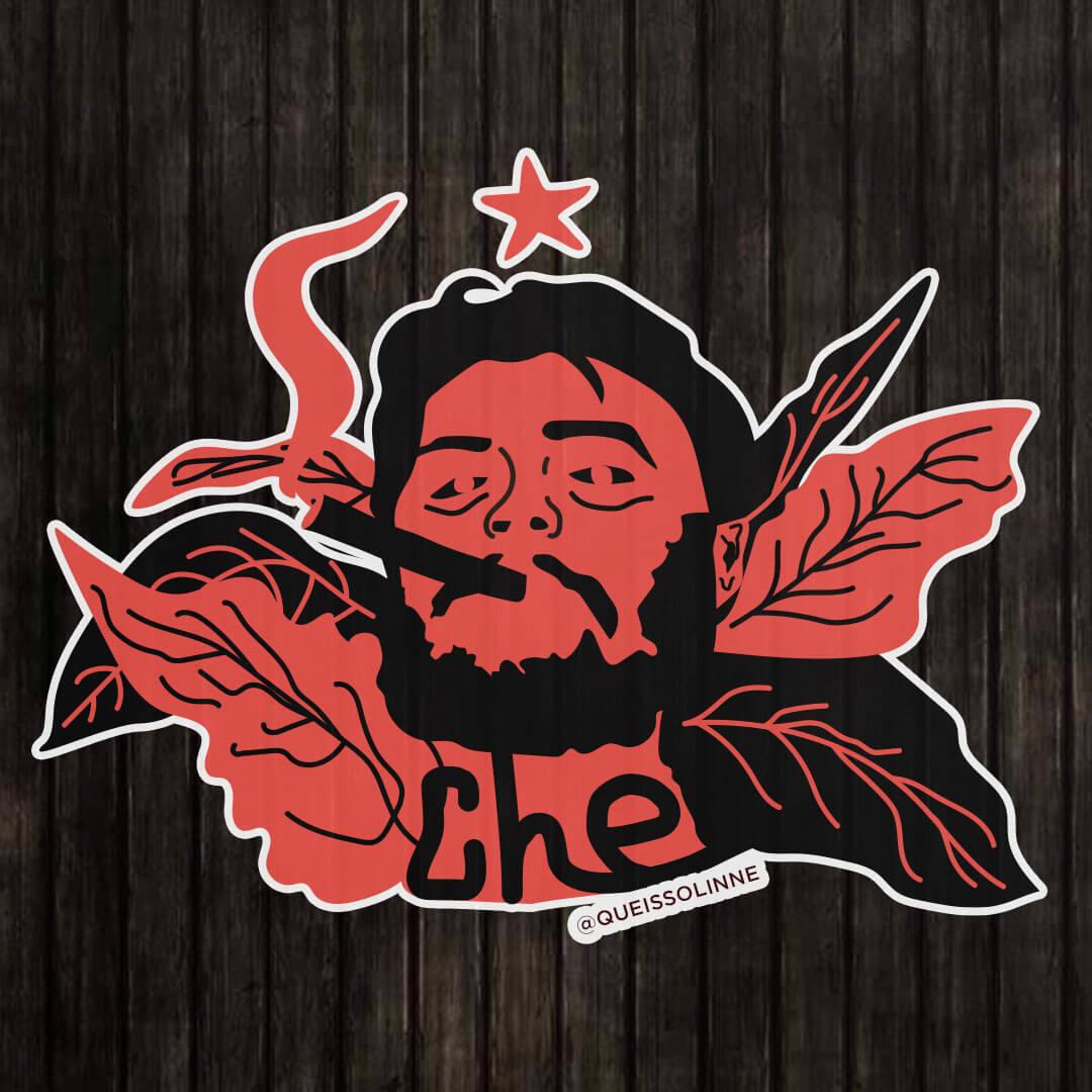 Adesivo - Ernesto Che Guevara