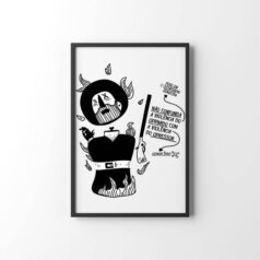 Poster Borba gato por Alinne Martins