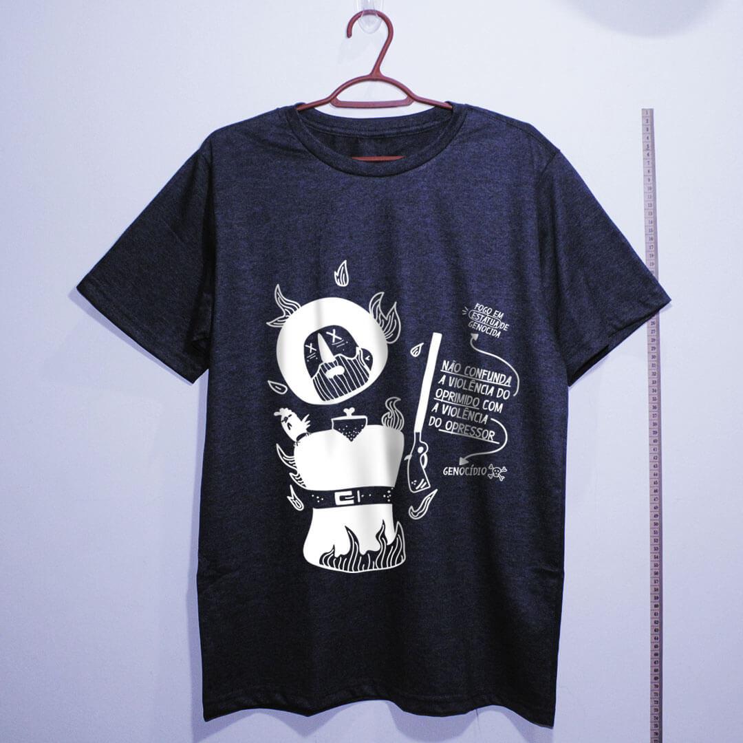 camiseta-borba-gato-chumbo algodão