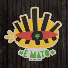 Sticker-cannabis
