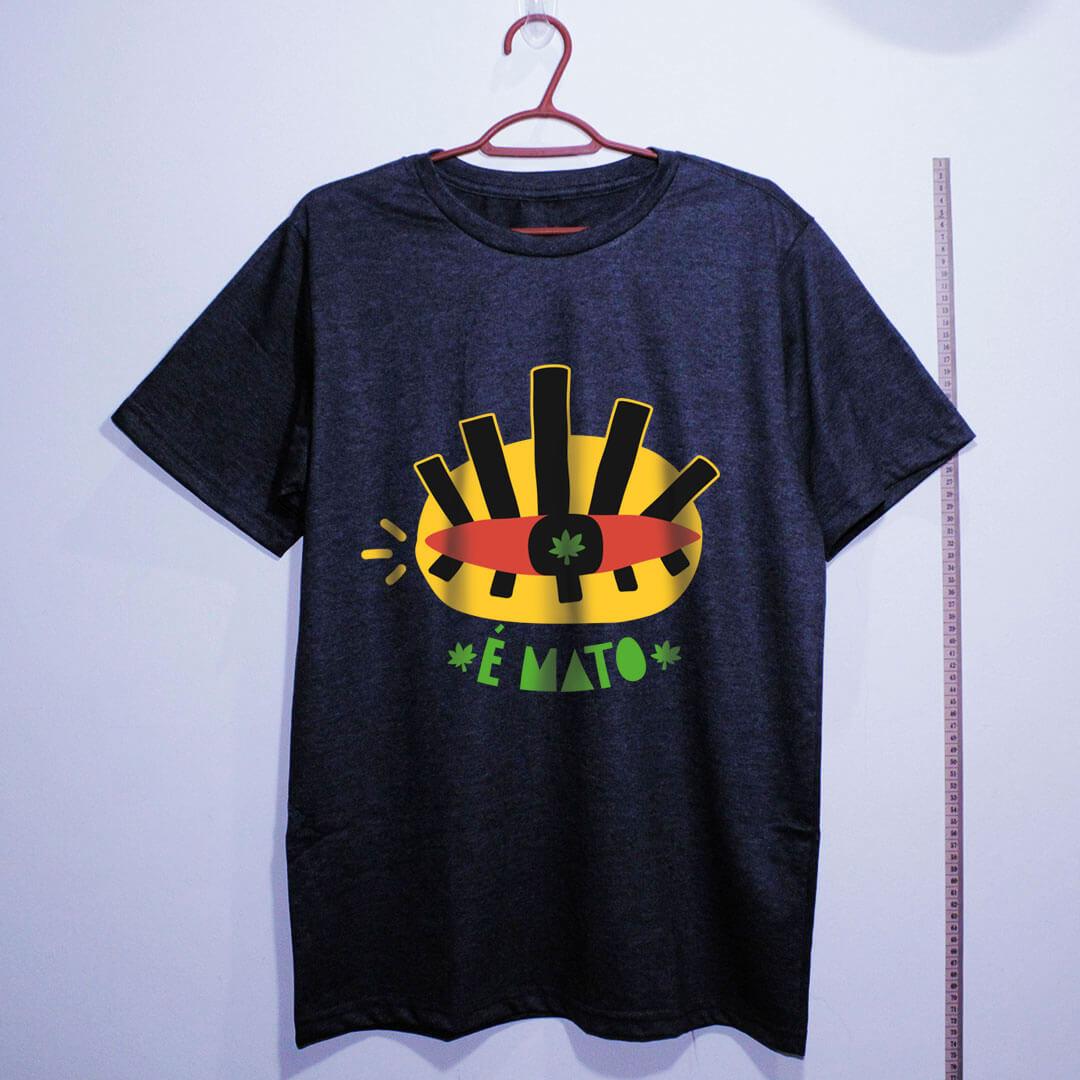 camiseta de algodão-cannabis-chumbo