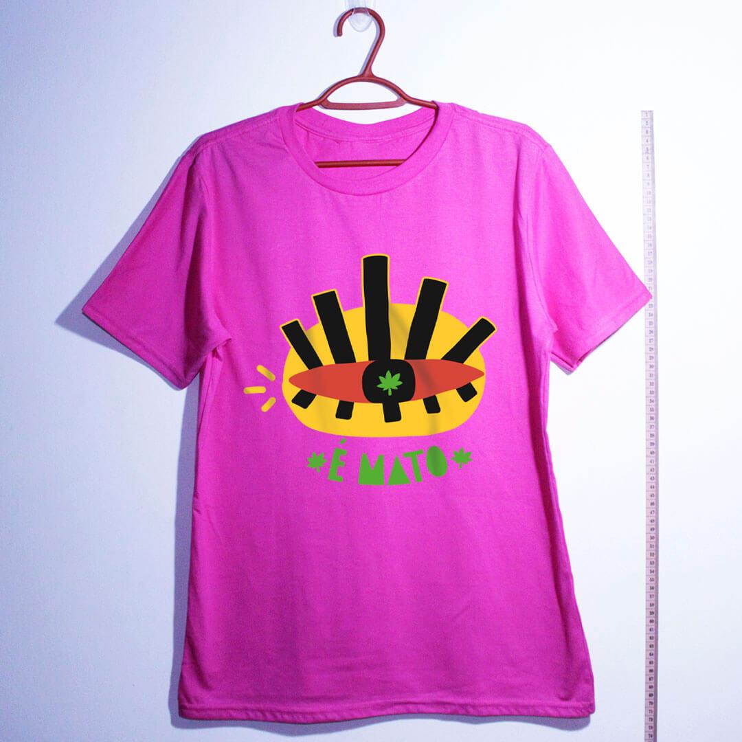 camiseta de algodão-cannabis-rosa